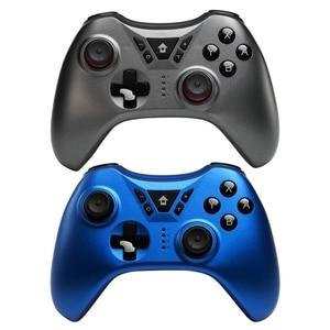 Image 5 - ใหม่ SWITCH Pro ไร้สายบลูทูธ Gamepad จอยสติ๊กสำหรับ Nintendo สวิทช์ NS สำหรับ PS3/PC/Android/ ไอน้ำ (สีฟ้า)