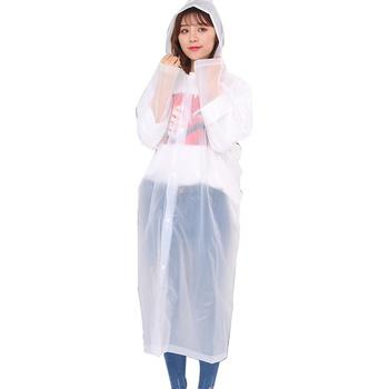 PEVA wielokrotnego użytku płaszcz przeciwdeszczowy mężczyźni moda przezroczysty płaszcz przeciwdeszczowy przezroczysty płaszcz przeciwdeszczowy kobiety kurtka kurtka przeciwdeszczowa kobiety dorosły wodoodporny sprzęt tanie i dobre opinie Odzież przeciwdeszczowa Raincoat Single-osoby przeciwdeszczowa Poliester Dorosłych Uniwersalny Reusable yellow pink blue white green gray