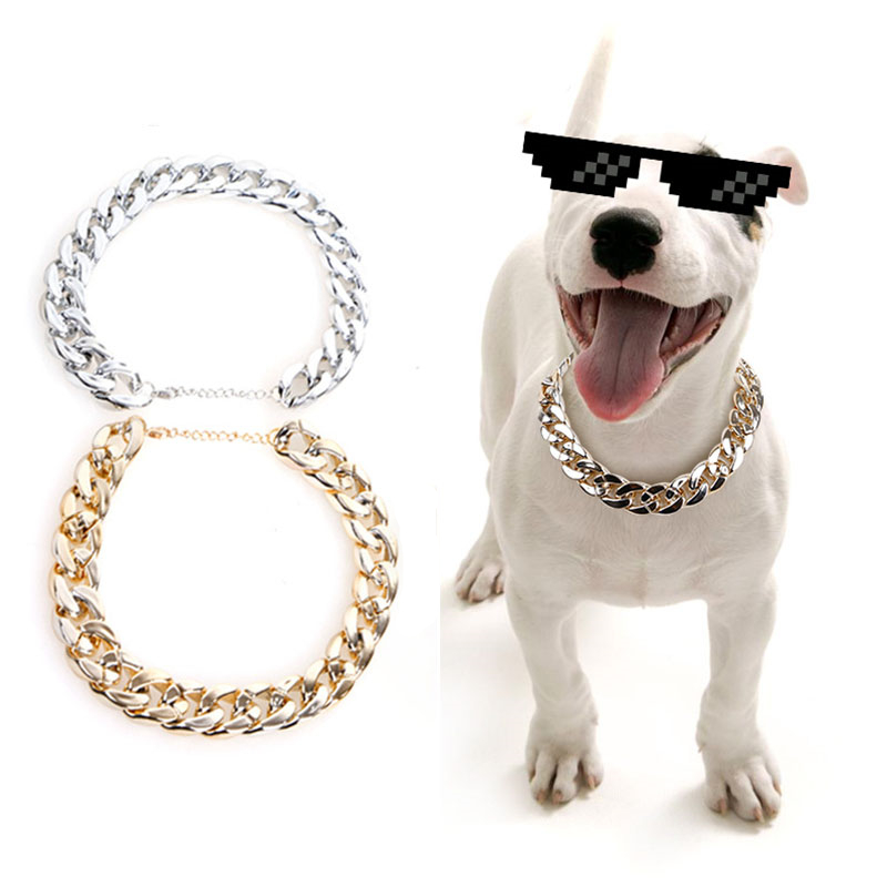 thick chain dog collars