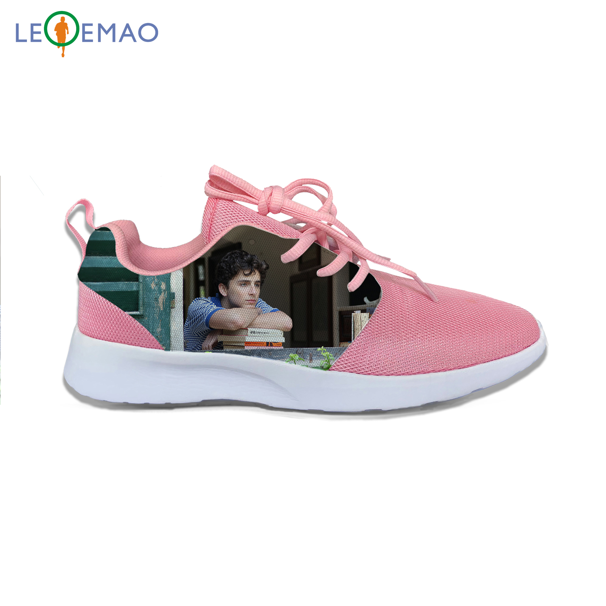 Running Shoes For Men Sneakers Hot Cool Handiness Youth GAY Movie For Atomic Call Me By Your Name Air Mesh Shoes Breathable image