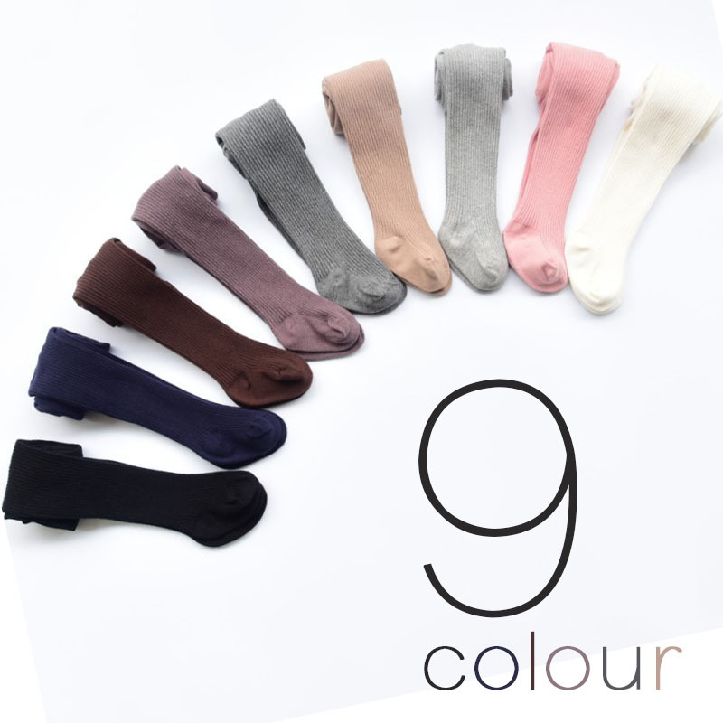 Penteado Meias de algodão Do Bebê Outono Inverno 6 Meses-8 Anos de Idade Meninas Meia-calça Infantil Meias Crianças Roupas Quentes