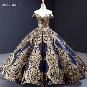 Image 1 - J67026 jancember celebrity dresses in Celebrity Inspired Dresses sweetheart ball gown evening dress 2020 платье для выпускного