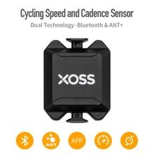 XOSS Radfahren Computer Tacho Geschwindigkeit und Kadenz Dual Sensor ANT + Bluetooth Rennrad MTB Sensor für GARMIN iGPSPORT bryton