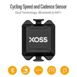 Image 1 - XOSS ordenador para bicicleta velocímetro con Sensor Dual de cadencia y velocidad, ANT +, Bluetooth, para GARMIN iGPSPORT bryton