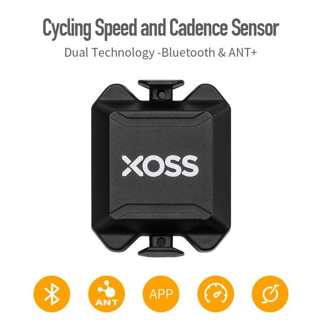 XOSS ordenador para bicicleta velocímetro con Sensor Dual de cadencia y velocidad, ANT +, Bluetooth, para GARMIN iGPSPORT bryton