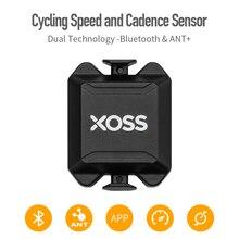 Xoss ciclismo computador velocímetro velocidade e cadência duplo sensor ant + bluetooth bicicleta de estrada mtb sensor para garmin igpsport bryton