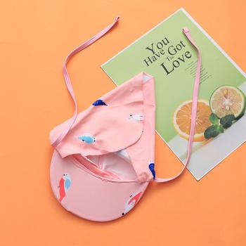 Ochrona przeciwsłoneczna czepek pływacki pełna ochrona przed promieniowaniem UV klapa czepek pływacki dla dzieci dzieci (papuga) tanie i dobre opinie CN (pochodzenie) sun protection swim hat full protection sun hat uv protection swim hat flap swim hat flap swim hat for kids
