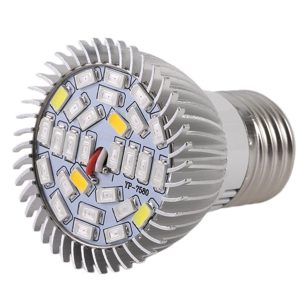 LED Grow Light 8W/10W 18LED/28LED E27 Spotlight Plant Lamp Bulb Flower Greenhouse System Grow Box AC85-265V