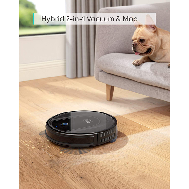 £PromoteRobot-Vacuum-Cleaner Hybrid 2000pa Smart Mop Sweep G10 Wi-Fi And 2-In-1 Dynamic Navigation