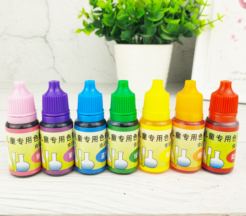 10ml DIY Educational Toys For Kids Dye Colorant Set Slime Jewelry Making Skin Safe Liquid Resin Pigments Slime Jewelry