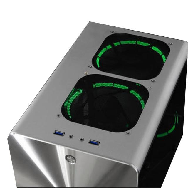 Q2 Itx Mini Case Horizontal Itx Enclosure PC Computer Cabinet Mini 6
