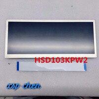 NIEUWE en Getest 10.3 inch 1920x720 voor HSD103KPW2 A10 TFT lcd scherm gratis verzending