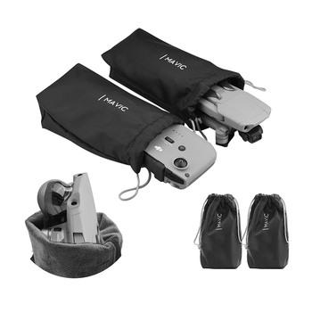 2pcs Storage Bag for DJI Mavic Air 2 Portable Handbag Drone Remote Control Protective Carrying Case for mavic air 2 Accessories carrying case for dji phantom 1 2 qr x350 fc40 48cm x 35cm x 22cm camouflage