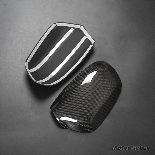 Real Crabon Fiber Mirror Cover 1 pair for Old Mazda 3  M3 2003-2012 T243M 5