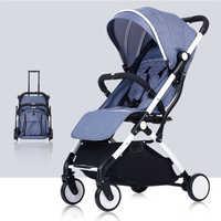 Baby Kinderwagen Flugzeug Leichte, Tragbare Reisen Kinderwagen Kinder Kinderwagen Trolley Auto trolley Klapp Baby Wagen