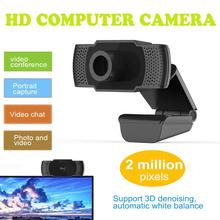 цена на webcam full hd 1080p webcamera usb camera Desktop Laptop Camera web camera for computer with microphone for Windows 10/8/7/XP