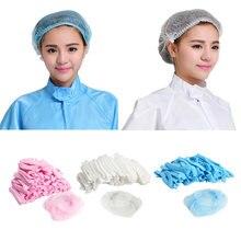 50 шт/упак одноразовые колпачки для волос s сетки чехлы душа