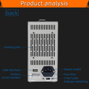 Image 3 - ET5410 تحميل المهنية للبرمجة تيار مستمر الحمل الكهربائي التحكم الرقمي تيار مستمر تحميل جهاز اختبار بطارية الإلكترونية تحميل 150 فولت 40A 400 واط