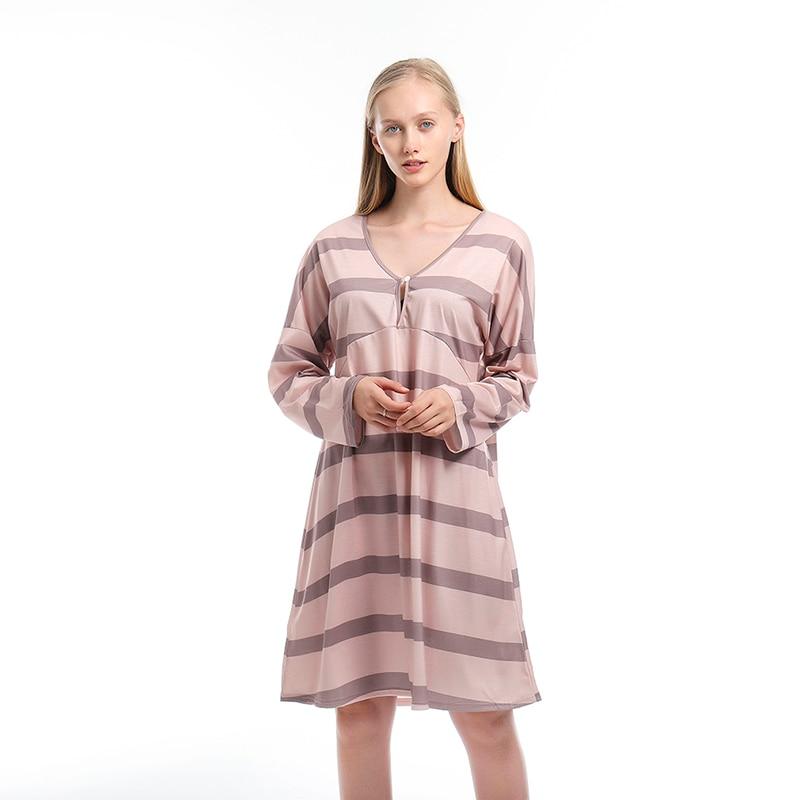 Женское платье большого размера, женское платье с v-образным вырезом и длинным рукавом, однотонное платье для пляжа, женское модное