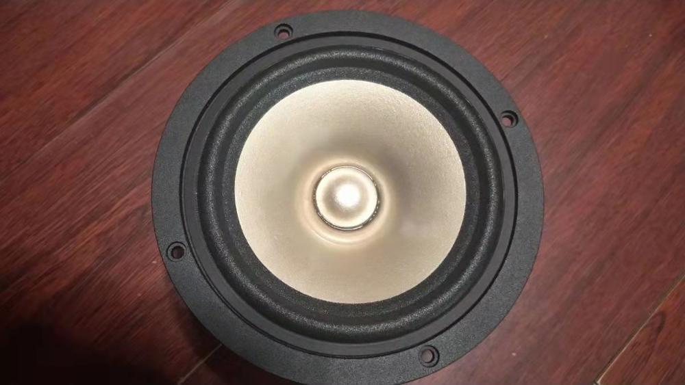 1 Piece Original AKISUI AS120FL 5'' Full Frequency Speaker Driver Unit Casting Aluminum Frame Mixed Paper Cone 4ohm 60W