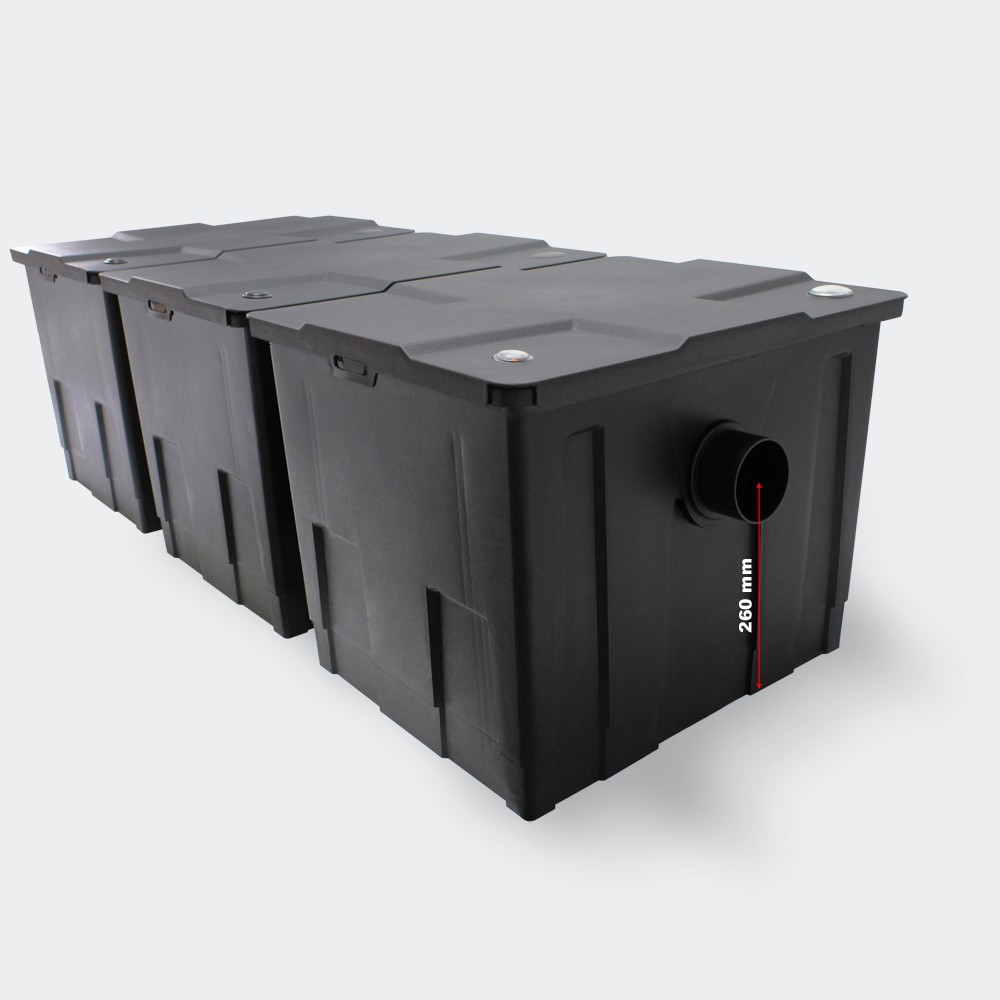 Bio Pond Filter 12000I/H CBF-350 Large Box Filtration Outdoor Use