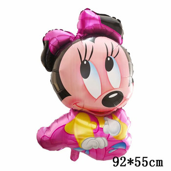 Giant Mickey Minnie Mouse Balloons Disney cartoon Foil Balloon Baby Shower Birthday Party Decorations Kids Classic Toys Gifts 24