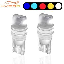 2PCS T10 W5W New High Quality Led Car Turn Side Light Marker Lamp WY5W 501 168 192 Auto Wedge Parking Bulb License Plate Lights