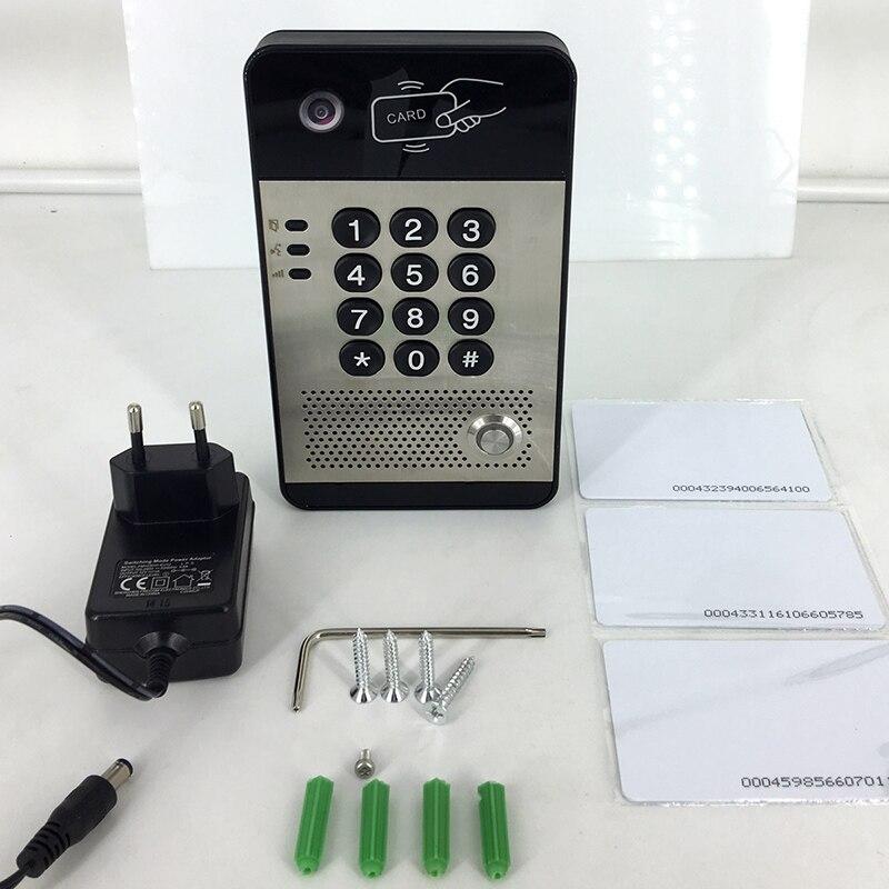 NiteRay SIP video me dyer të telit elektronik të kyçjes në derë - Siguria dhe mbrojtja - Foto 6