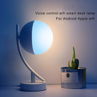 Voice Control WiFi Smart LED Desk Lamp Wireless Dimmable Voice Control Table Lamp J8 #3