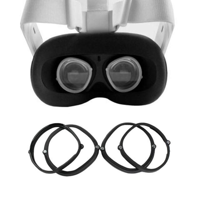1 زوج المغناطيسي النظارات الإطار ل Oculus كويست 2 VR سماعة قصر النظر البعيدة النظر عدسة حماية ل oculus كويست 2 اكسسوارات