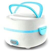 Gıda ısıtma vapur isıya yeni çok fonksiyonlu elektrikli yemek kabı Mini pirinç ocak taşınabilir koruma yemek kabı ab tak|Öğle Yemeği Kutuları|   -
