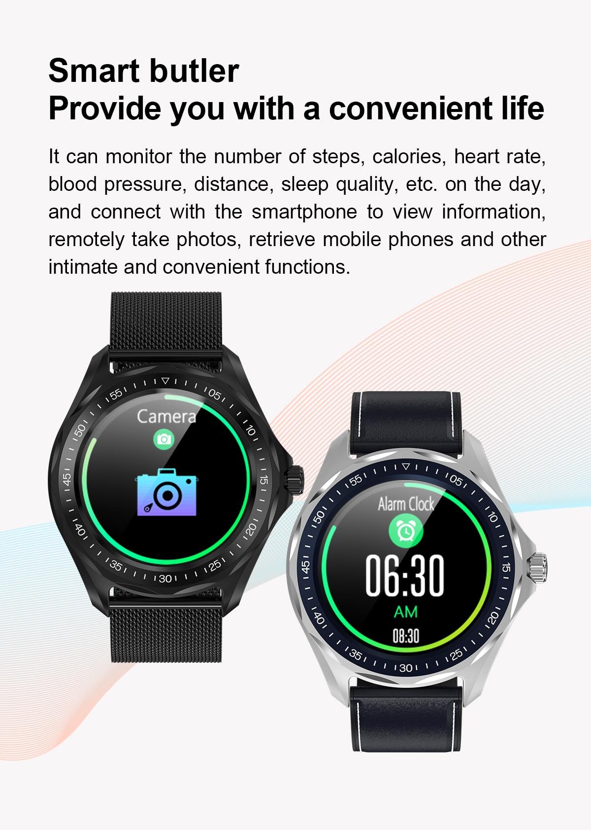 água relógio inteligente masculino esporte relógio de