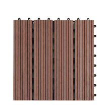 Водостойкие экологически чистые аксессуары патио террасы DIY сплайсинга доска плитка 30x30 см сад балкон Напольный Настил Открытый легко подходит