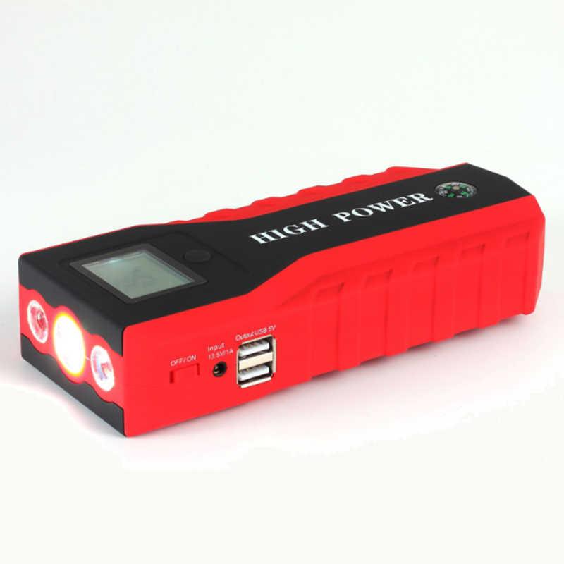 Nos enchufe de alta potencia del coche salto de arranque Multi función cargador de emergencia de la batería del Banco de potencia portátil Paquete de Buster 12V 12V empezando