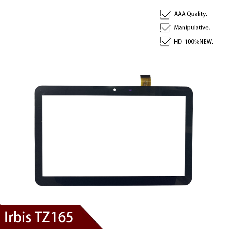 Original New Black New For 10.1 INCH Irbis TZ165 Tz-165 Tablet Capacitive Touch Screen Panel Digitizer Sensor Replacement