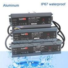 Led ultra-fino à prova dip67 água fonte de alimentação ip67 AC110V-220V para dc12v/dc24v transformador 45 w/60 w/100 w/120 w/150 w/200 w/300 w led driver