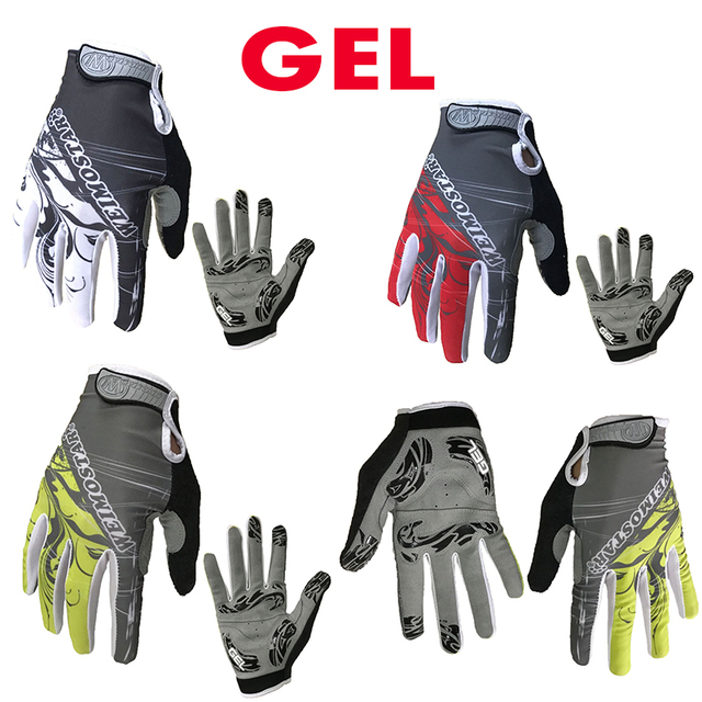 Atacado etixxl dedo cheio luvas de ciclismo guantes gel almofada luvas da motocicleta verão mtb bicicleta luvas 1