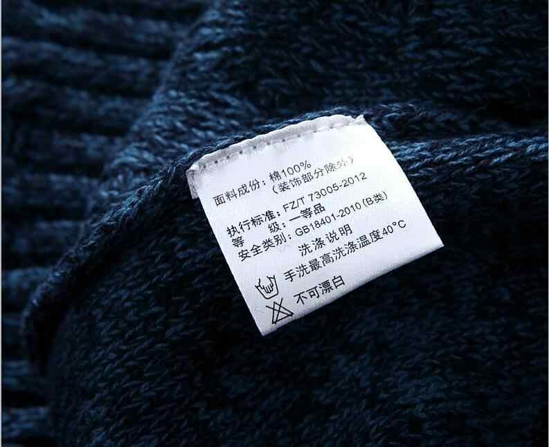 2019 herbst Neue Stil Pullover Männer 100% Baumwolle Hochwertige Pullover Rot Herren Rollkragen Pullover Oberbekleidung Mäntel