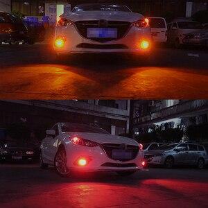 Image 5 - RXZ 12 24V 2PCS Auto H16 5202 9005 HB3 9006 HB4 P13W LED H11 LED 5730 33LED auto Lampada Della Nebbia Dellautomobile Lampadina Super Bianco giallo impermeabile