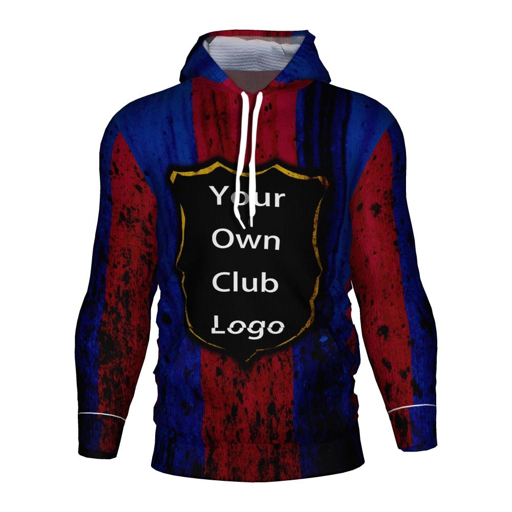 2019 2020 Barcelona Fc Soccer Jersey 3d Hoodie Barcelona Tracksuit Men/kids Kit Barcelona Football Club Messi Training Hoodies