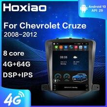 J300 Radio Multimedia Player De Vídeo do carro Para Chevrolet Cruze 2008 2009 2010 2011 2012 Navegação GPS din 2 4 G Android 9.0