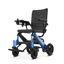 120kg Loading Lightweight foldable electric power wheelchair for elderly
