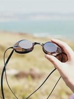 Óculos de proteção do produto genuíno impermeável anti nevoeiro natação álcool por volume galvanizado miopia concorrência espelho de alta definição a Óculos de segurança     -
