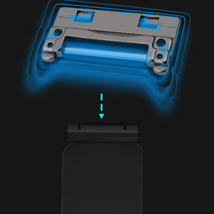 Image 3 - Alloyseed reparação/substituição parte host voltar escudo kickstand suporte kit para nintend switch game console ns