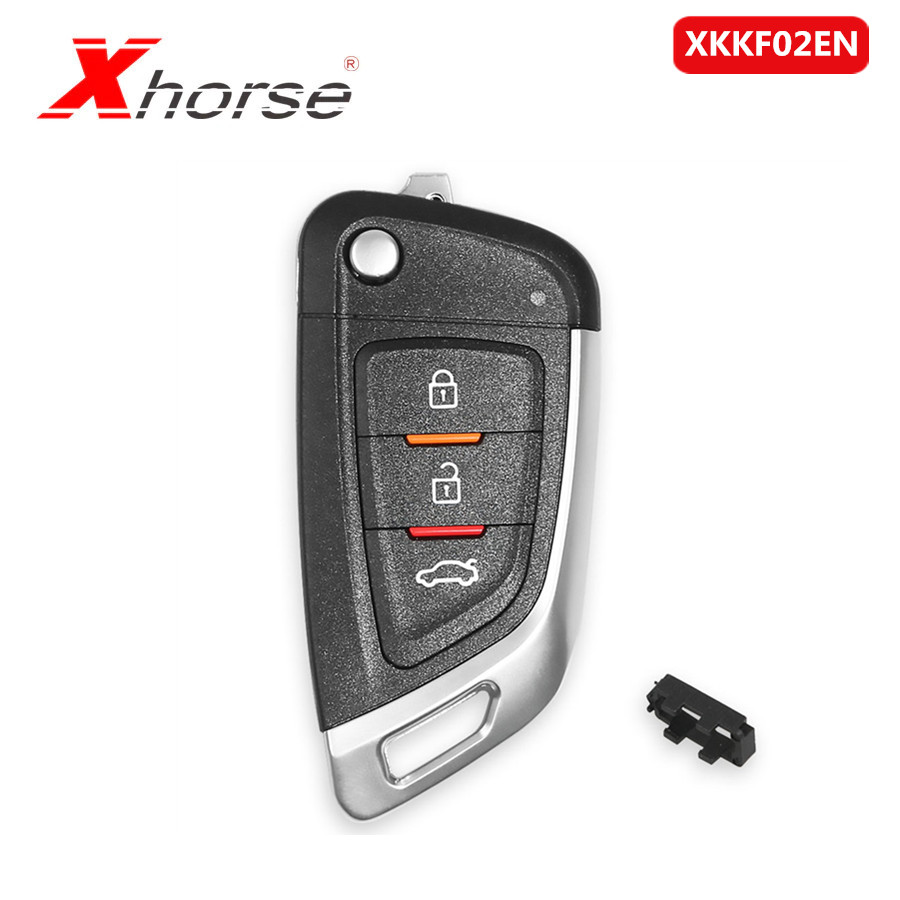 Xhorse Universal Remote Car Key With 3 Buttons For VVDI Key Tool/VVDI2 XKKF02EN 5pcs/lot