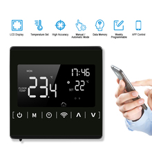 Remote-Controller Smart Thermostat Alaxa Temperature Wifi Electric Floor-Heating-Water/gas-Boiler