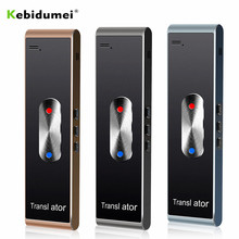 Kebidumei Portatile Smart Istante Traduttore Vocale T8S PK T8 Multi Lingua Discorso Interattivo Traduttore Bluetooth in Tempo Reale