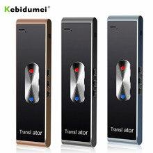 Kebidumei Tragbare Smart Instant Stimme Übersetzer T8S PK T8 Multi Sprache Rede Interaktive Übersetzer Bluetooth Echtzeit