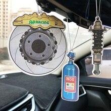 Car Hanging Ornament Auto-Perfume-Pendant Car-Styling-Accessories Interior Creative Metal