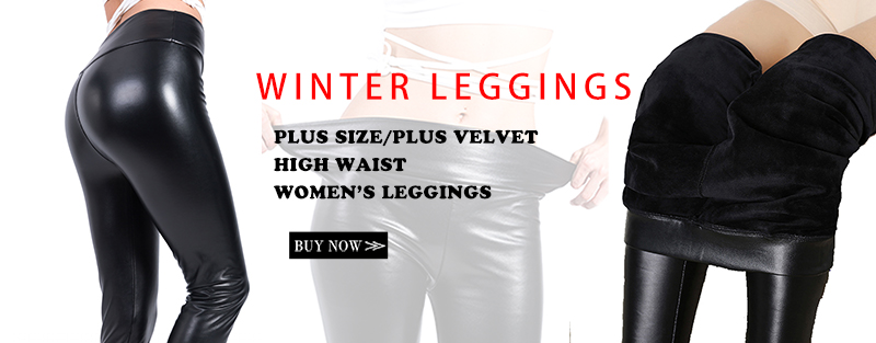 Rooftrellen Hot New Fashion Women's Autumn And Winter High Elasticity And Good Quality Thick Velvet Pants Warm Leggings 15